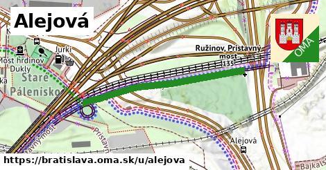 ilustrácia k Alejová, Bratislava - 338m