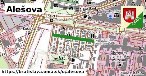 Alešova, Bratislava