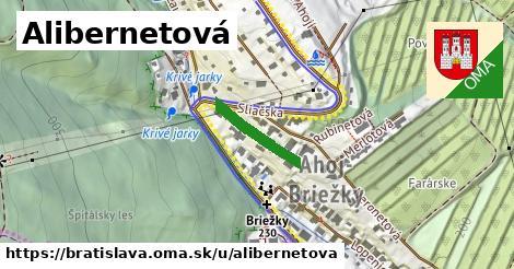 Alibernetová, Bratislava