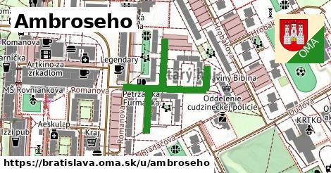 Ambroseho, Bratislava