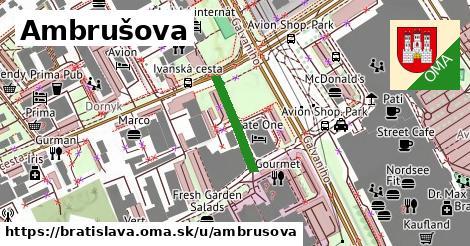 Ambrušova, Bratislava