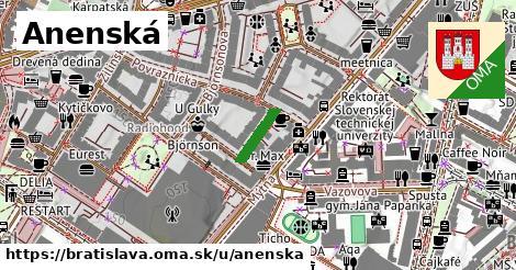 ilustrácia k Anenská, Bratislava - 92m
