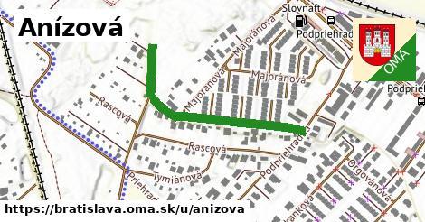 Anízová, Bratislava