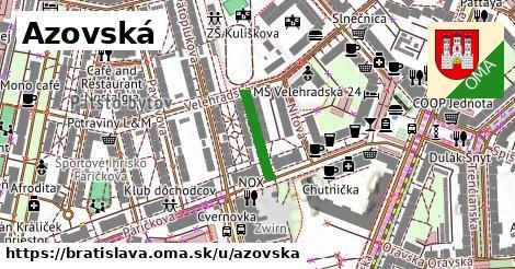 Azovská, Bratislava