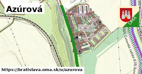 Azúrová, Bratislava