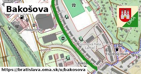 Bakošova, Bratislava