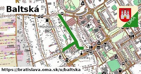 Baltská, Bratislava
