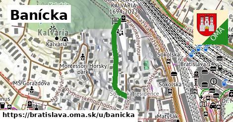 Banícka, Bratislava