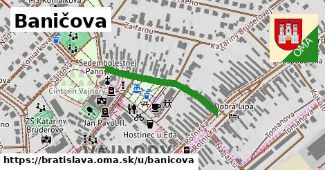 ilustrácia k Baničova, Bratislava - 285m