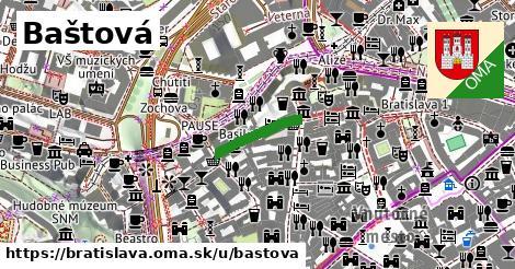 Baštová, Bratislava