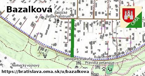 Bazalková, Bratislava