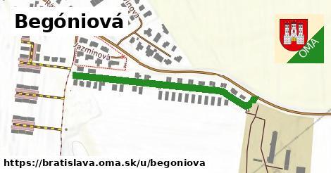 Begóniová, Bratislava