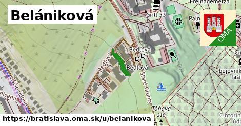 Belániková, Bratislava