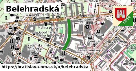 Belehradská, Bratislava