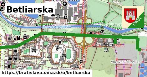 Betliarska, Bratislava