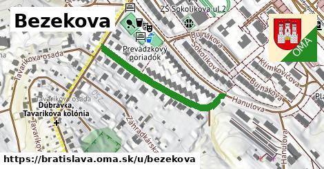 Bezekova, Bratislava