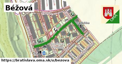 Béžová, Bratislava