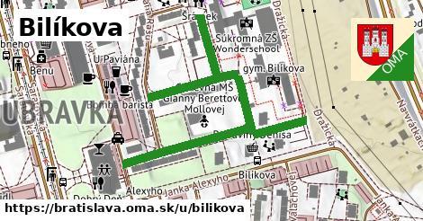 Bilíkova, Bratislava