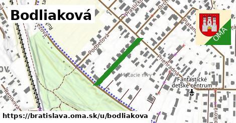 Bodliaková, Bratislava