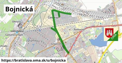 Bojnická, Bratislava