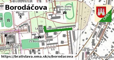 Borodáčova, Bratislava