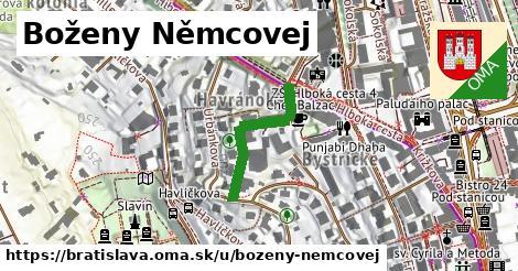Boženy Němcovej, Bratislava