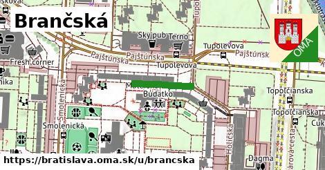 Brančská, Bratislava