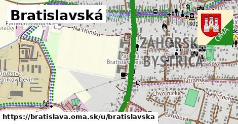 Bratislavská, Bratislava
