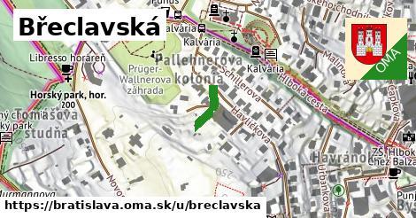 ilustrácia k Břeclavská, Bratislava - 89m