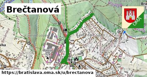 Brečtanová, Bratislava