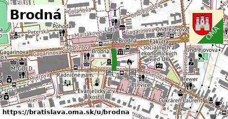 Brodná, Bratislava
