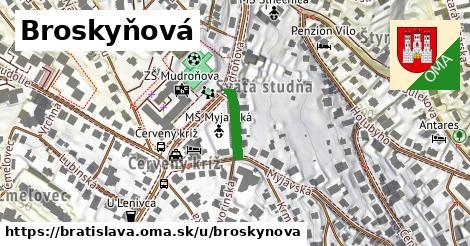 ilustrácia k Broskyňová, Bratislava - 123m