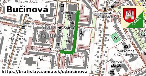 Bučinová, Bratislava