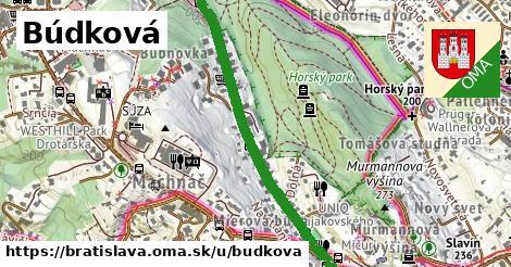 Búdková, Bratislava