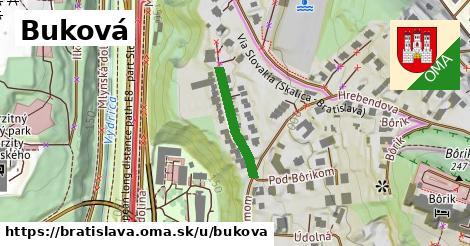 Buková, Bratislava
