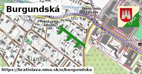 Burgundská, Bratislava