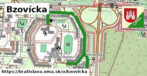 Bzovícka, Bratislava