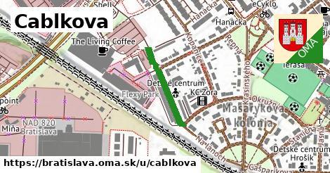 Cablkova, Bratislava