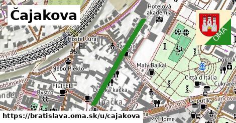 Čajakova, Bratislava