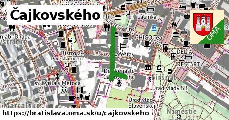 ilustrácia k Čajkovského, Bratislava - 220m