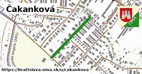 Čakanková, Bratislava