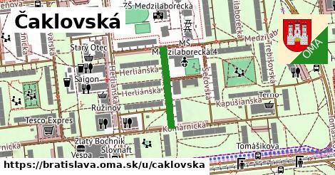 Čaklovská, Bratislava
