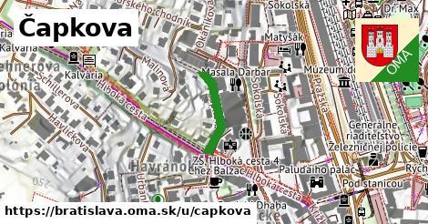 ilustrácia k Čapkova, Bratislava - 154m