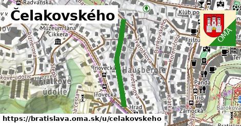 Čelakovského, Bratislava