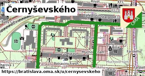 Černyševského, Bratislava