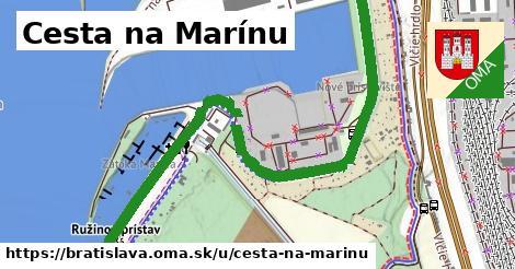 Cesta na Marínu, Bratislava
