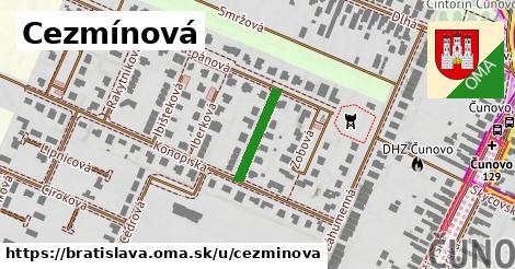 Cezmínová, Bratislava