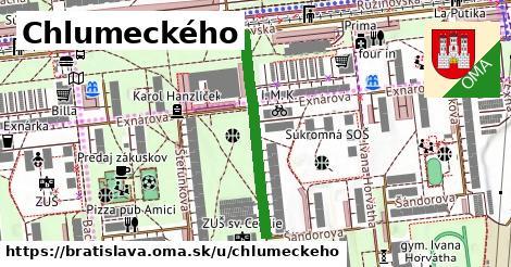 Chlumeckého, Bratislava