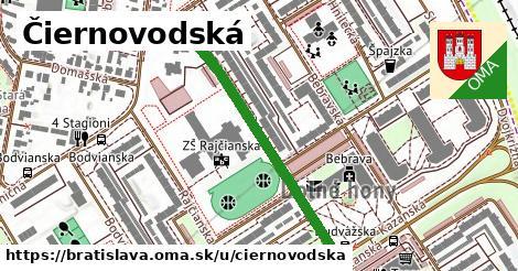 ilustrácia k Čiernovodská, Bratislava - 424m