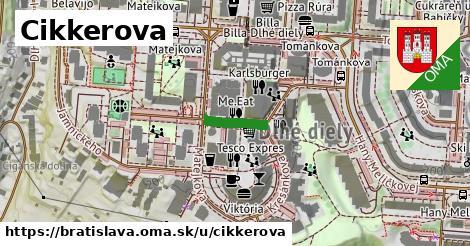 Cikkerova, Bratislava